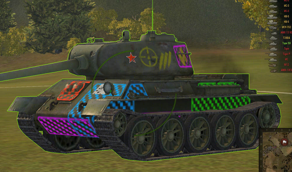 world of tanks leopard 1